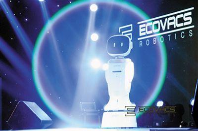 """智博会机器人显神通 看机器人写稿打印""""未来报纸"""